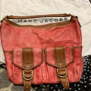 Marc Jacobs large leather bag